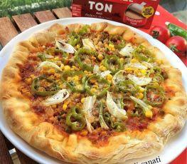 Dardanel Acılı Tonlu Pizza