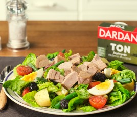 Dardanel Tonlu Salata Tarifi