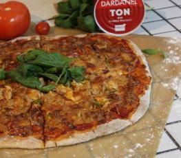 Dardanel Ton Acılı Kaşar Peyniri Kenarlı Pizza