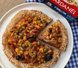 Dardanel Ton Salata Mısırlı Susam Kenarlı Pizza