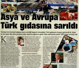Asya ve Avrupa Türk gıdasına sarıldı.