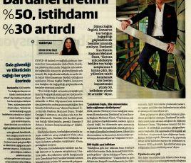 Ton balığına talep arttı. Dardanel üretimi %50, istihdamı %30 artırdı.