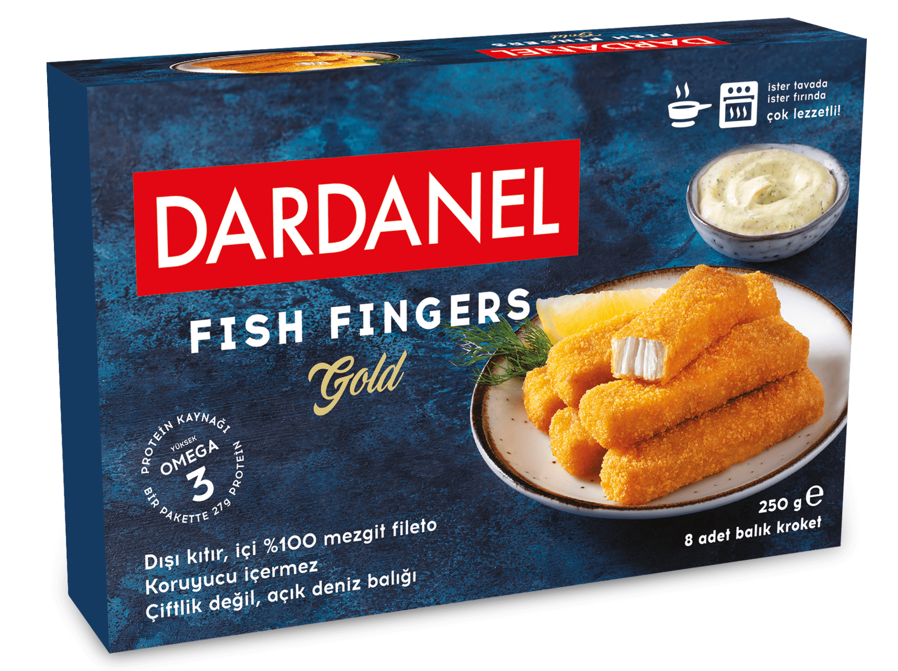Fish Fingers Gold