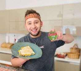 Dardanel Tonlu Zeytinyağlı tost