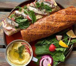 Dardanel Sardalya-Ekmek